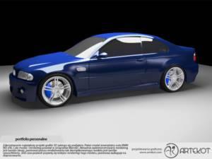 Model 3D BMW e46