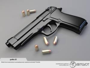 Model 3D Beretta