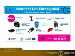 Baner internetowy dla Ornet