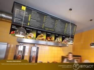 Tablice dla Orient Kebab & Grill