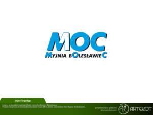 Logotyp myjni z Bolesławca MOC