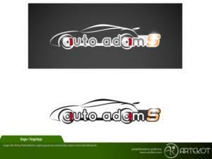 Logo i logotyp dla Autoadams