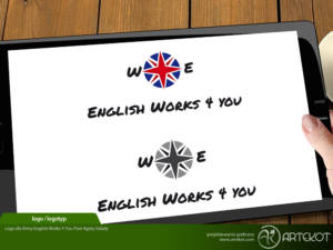 Logo dla English Works 4 You