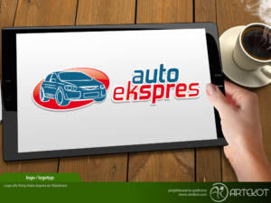 Logo firmy Auto Expres ze Składowic
