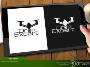 Logo dla Dron Expert z Lubina