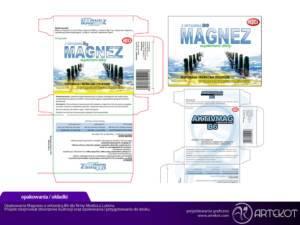 Opakowanie suplementu Magnez B6