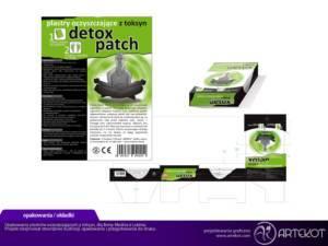 Opakowanie plastrów detoxy