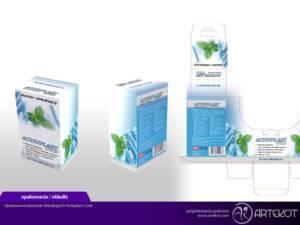 Opakowanie plastrów chłodzących Activeplast