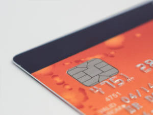 zdjęcie karty płatniczej