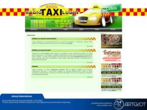 Strona korporacji Radio Taxi