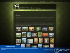 Strona malarki Radosławy Kotwin (nieaktualna)