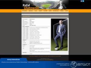 Oficjalna strona trenera Ulatowskiego