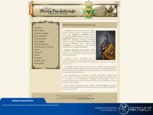 Strona internetowa dla ZOPG (stary layout)