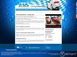 Strona internetowa firmy Myjnia Bolesławiec (nieaktualna)