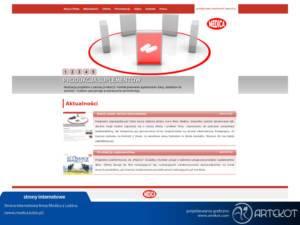 Strona firmy Medica (nieaktualna)