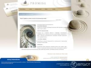 Strona CMS dla Promise