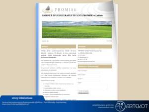 Strona internetowa Promise
