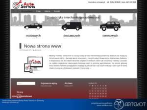 Strona dla Auto Serwis