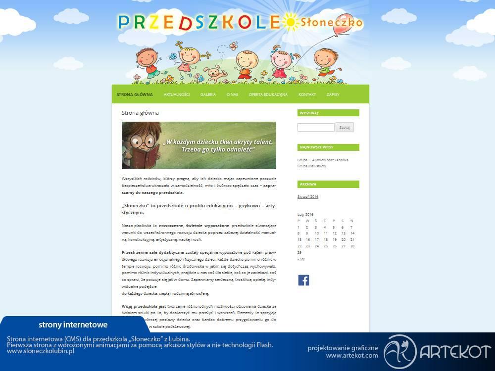 Strona P.N. Słoneczko