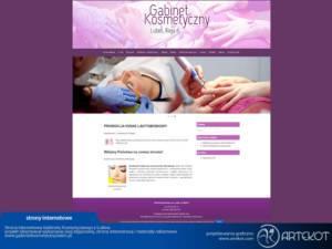 Strona dla Gabinetu Kosmetycznego
