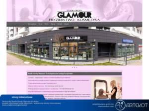 Strona internetowa dla Glamour