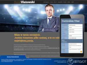Nowoczesna strona CMS dla Rafała Ulatowskiego