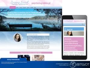 Strona internetowa z blogiem