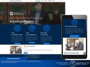 Strona Arkadiusza Fejdasz