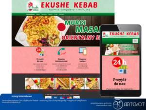 Strona Ekushe Kebab