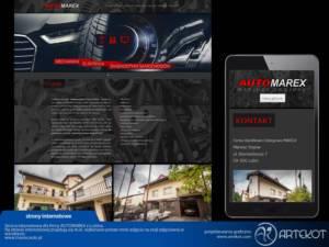 Strona firmy AutoMarex