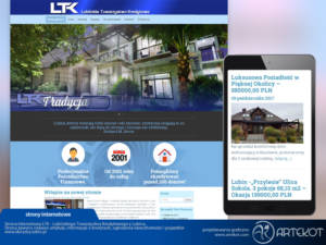 Strona internetowa LTK