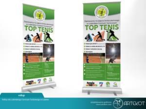 Rollup dla firmy Top Tenis z Lubina