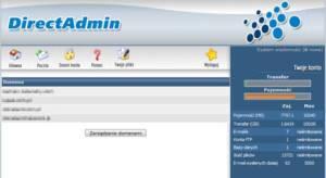 direct admin panel