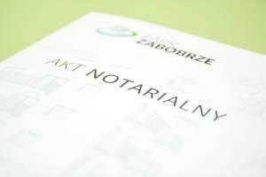 Teczka na Akta Notarialne dla Park Zabobrze